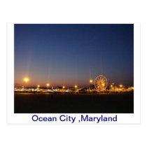 Ocean City,Maryland,USA Postcard