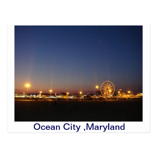 Ocean City,Maryland,USA Post Card