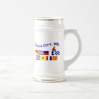 Ocean City MD Beer Stein