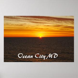 ocean city md poster
