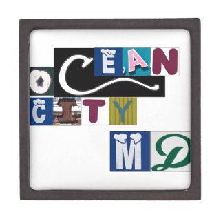 Ocean City MD Signs Keepsake Box