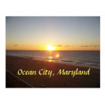 Ocean City, MD Sunrise Postcard