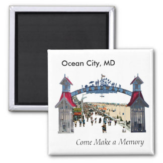 Ocean City Memories: Magnet