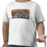 Ocean City, New Jersey - Large Letter Scenes Tshirts
