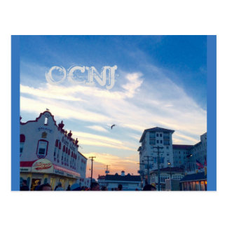 Ocean City, New Jersey Post Card-11th & Boardwalk Postcard