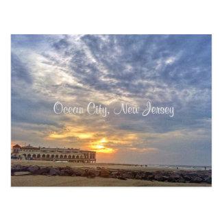 Ocean City New Jersey Post Card-Music Pier Postcard