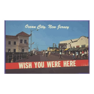 Ocean City, New Jersey, Vintage Posters