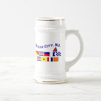Ocean City, NJ Beer Stein