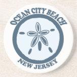 Ocean City NJ. Beverage Coasters