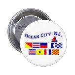 Ocean City, NJ Button