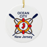 Ocean City NJ Christmas Ornaments