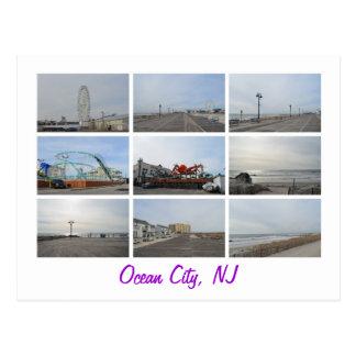 Ocean City NJ Postcard