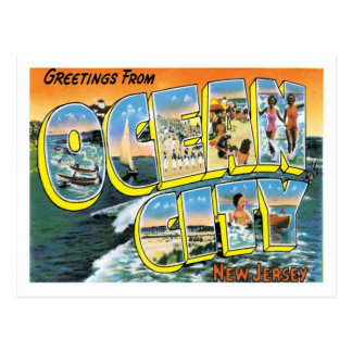 Ocean City NJ United States City Postcard
