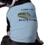 Ocean cliff photo doggie t shirt