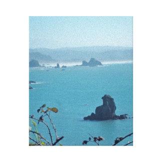 Ocean Cliffs in Trinidad, CA #1 Canvas Print