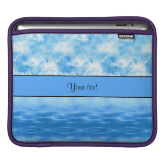 Ocean & Clouds Sleeve For iPads