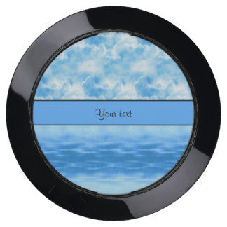Ocean & Clouds USB Charging Station