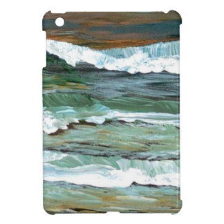 Ocean Comfort Beach Waves Surf Art Decor Gifts iPad Mini Cover