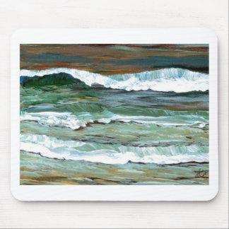 Ocean Comfort Beach Waves Surf Art Decor Gifts Mousepad