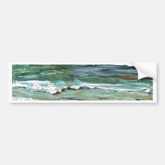 Ocean Comfort - CricketDiane Ocean Art Bumper Sticker