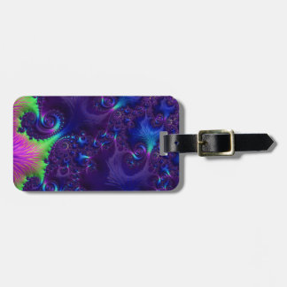Ocean Corals Fractal Tags For Bags