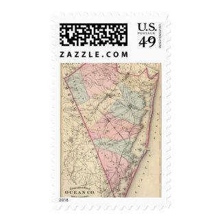 Ocean County, NJ Stamps