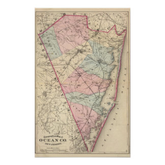 Ocean County, NJ Poster