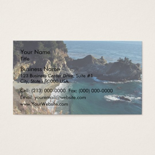 Ocean Cove Business Card