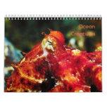 Ocean Creatures Calendar 2015