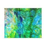 Ocean Crystals 2  20x16 canvas print