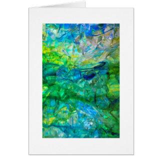 Ocean Crystals 2 Card