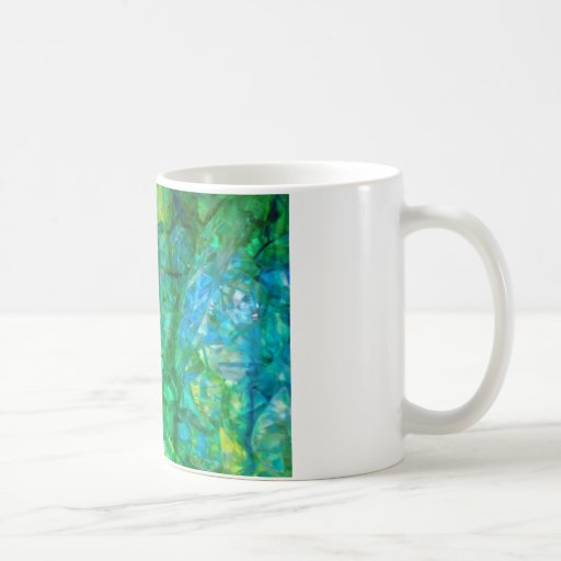ocean crystals 2 coffee mug