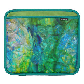 Ocean Crystals 2 ipad sleeve