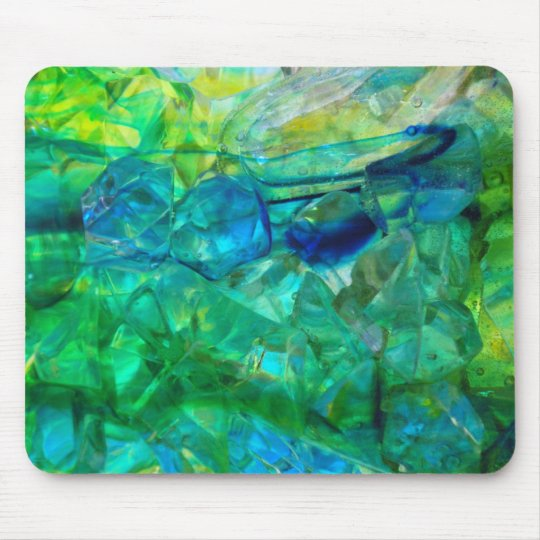 Ocean Crystals 2 Mouse Pad