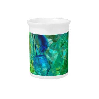 Ocean Crystals 2 Beverage Pitcher