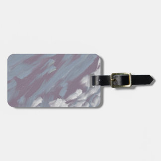 Ocean Current Luggage Tag