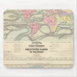 Ocean Currents and the Great River Basins Mouse Pad