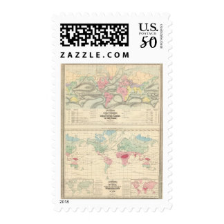 Ocean Currents and the Great River Basins Postage