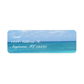 Ocean custom return address labels