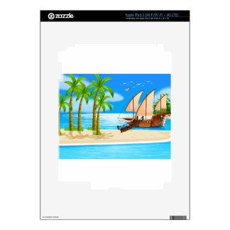 Ocean Decal For iPad 3