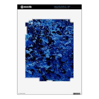 OCEAN DEEP (an abstract art design) ~ iPad 2 Decal