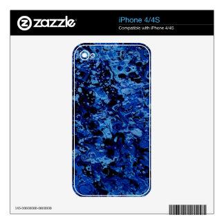 OCEAN DEEP (an abstract art design) ~ iPhone 4S Decals