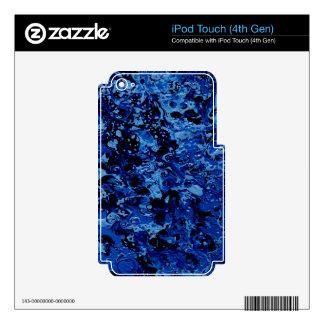 OCEAN DEEP (an abstract art design) ~ Skins For iPod Touch 4G