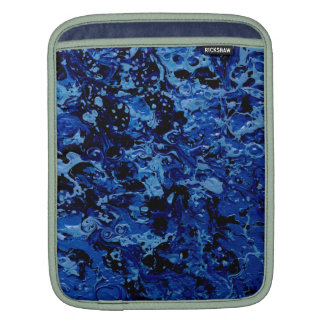 OCEAN DEEP (an abstract art design) ~ Sleeve For iPads