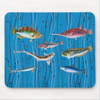 Ocean Delight Mouse Pad