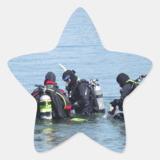 Ocean Divers Star Sticker