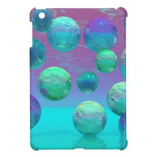 Ocean Dreams, Abstract Aqua Violet Ocean Fantasy Cover For The iPad Mini