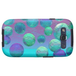 Ocean Dreams - Aqua and Violet Ocean Fantasy Galaxy S3 Case