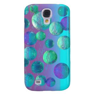 Ocean Dreams - Aqua and Violet Ocean Fantasy Galaxy S4 Cases