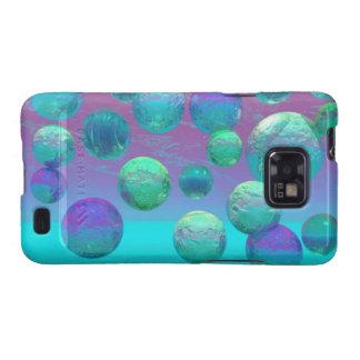 Ocean Dreams - Aqua and Violet Ocean Fantasy Samsung Galaxy S2 Covers